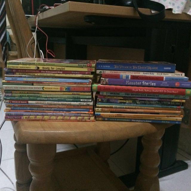 TAKE ALL 35 CHILDREN BOOKS