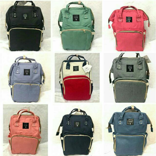 Tas diaper bag anello
