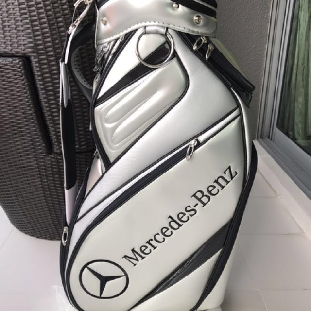 Taylormade mercedes golf bag sports sports games for Mercedes benz golf bag