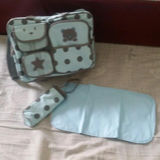 Teddy Bear Baby Diaper Bag