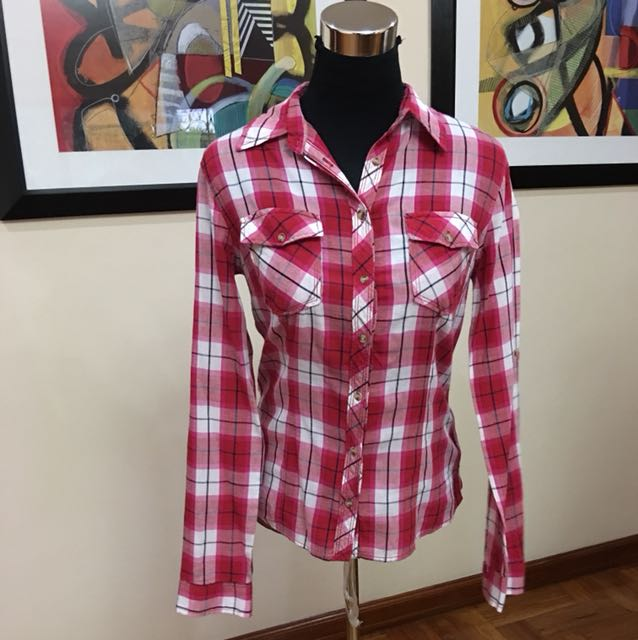 Terranova Plaid blouse