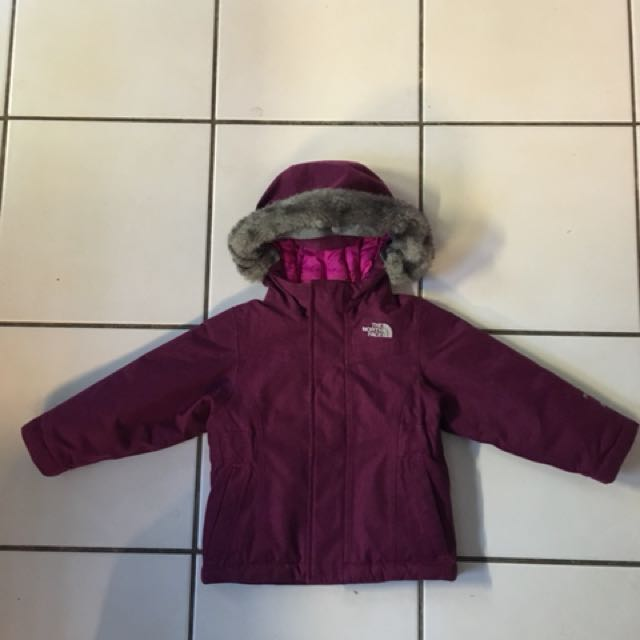 Toddler girls North Face Coat