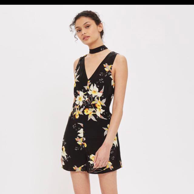35c179684f3e Topshop Floral Playsuit