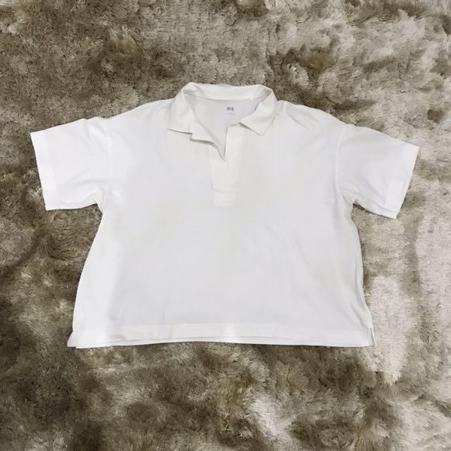 Uniqlo Skipper Collar Short Sleeved Shirt