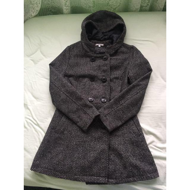 Valley Girl Hooded Coat