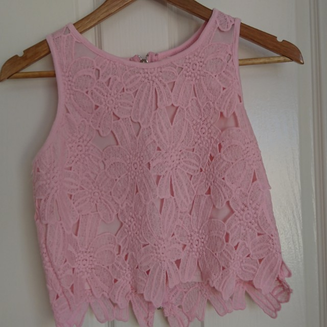 Valleygirl Pink Crop