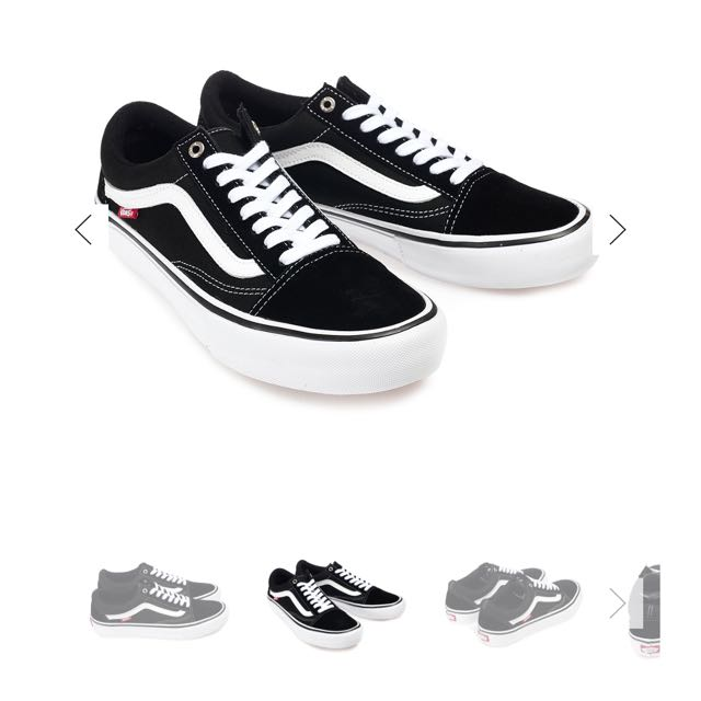 VANS 萬斯 OLD SKOOL DX BLACK黑 男鞋 26號