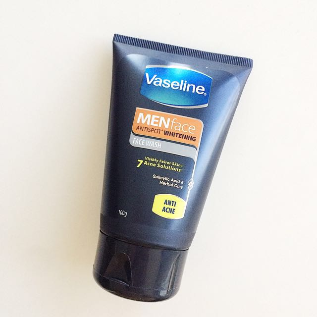 Vaseline Men Face Antispot Facial Wash (Repriced)