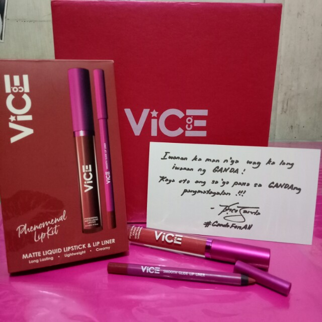 Vice Cosmetics Liquid Lipstick - Girly