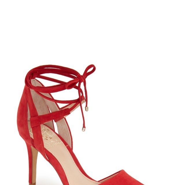 Vince Camuto Red Heels