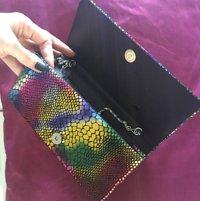 Vintage Clutch Wallet Multi colour