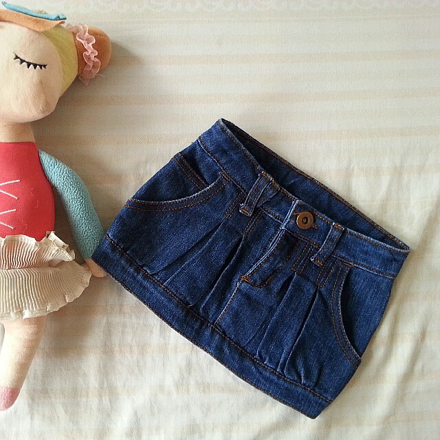 Wee Wear denim skirt