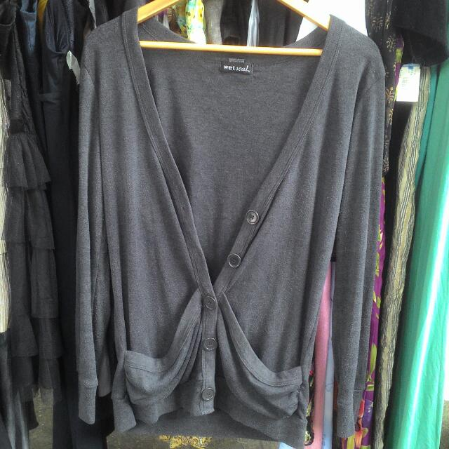 Wet Seal Knit Cardigan