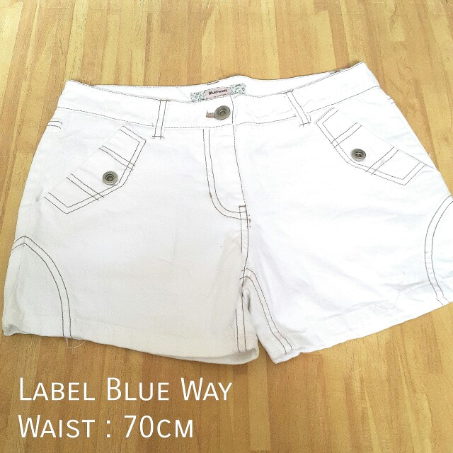 White Hot pants