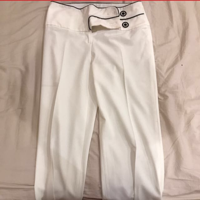 White trousers pants