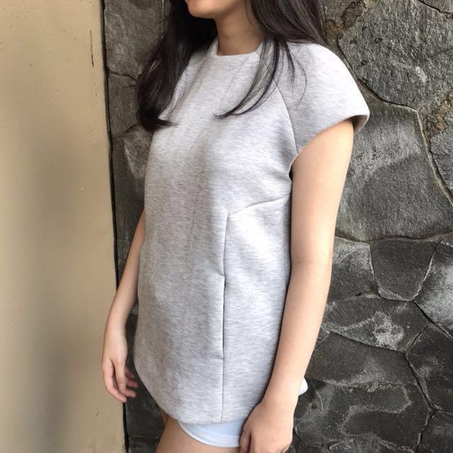 Zara Grey Shirt