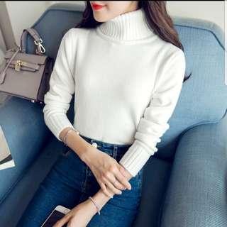 BNIB Korean Knit Top (white)
