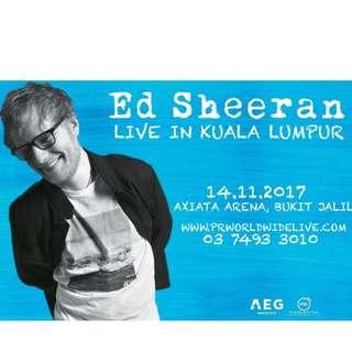 Ed Sheeran Kuala Lumpur 2017 U Mobile Zone