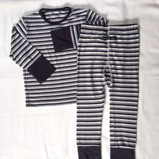 Sweet Bamboo Bailey Big Kid PJs Stripe