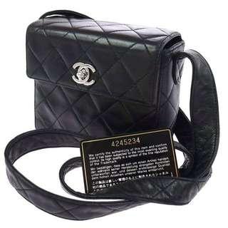 Chanel 二手中古斜咩袋 vintage authentic bag