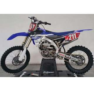 ** OFF ROAD USE ONLY ** 2015 YZ450F Yamaha