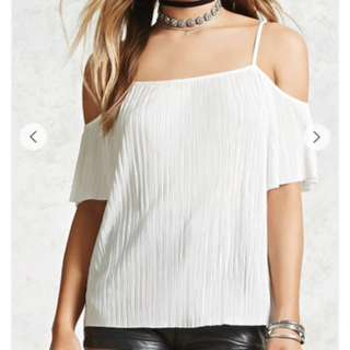 Forever 21 Open Shoulder Top