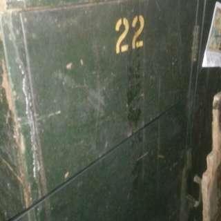 1965年九龍藍煙通貨倉鋼鐵儲物櫃
