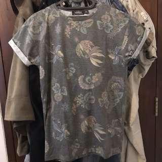 Topman Floral T-Shirt (XS)