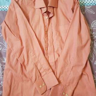 Gucci Men's Carrot Dress Shirts w/ Left Chest Pocket