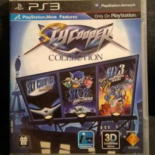 PS3 Sly Cooper Collection (1+2+3)