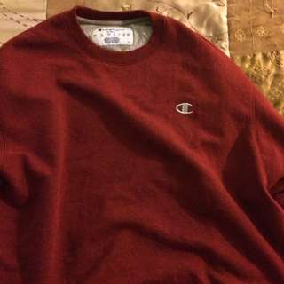 Real vintage oversized champion sweater