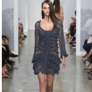 Zimmermann Stranded Mini Picotage Dress