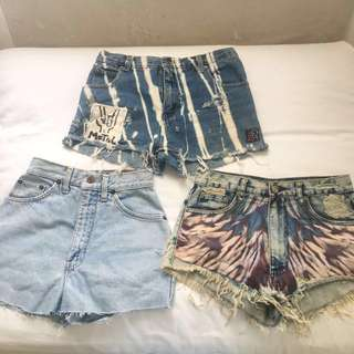 Denim shorts bundle