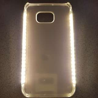 Note 5 gold cover with led light