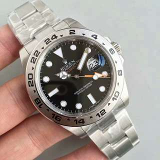 仁譽名錶面交 ROLEX Explorer II 216570 GMT  42mm 黑面 N版