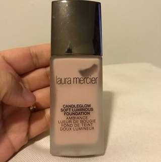 "Laura mercier candle glow foundation in ""linen"""
