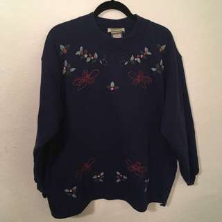 HAND EMBROIDERED OVERSIZED SWEATER