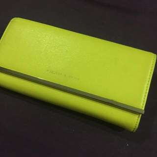 FREE SHIPPING! Cheery Yellow and Pink Wallet