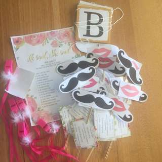 Hens party supplies 5 games 2 accessories
