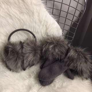 Earmuffs & Gloves Set