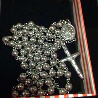 Authentic Stainless Steel rosary from europe