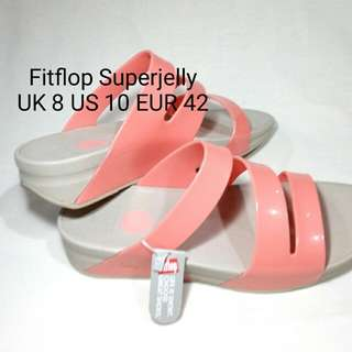 Authentic Fitflop Superjelly Twist Orange Hush