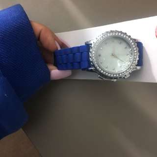 Valley Girl blue watch