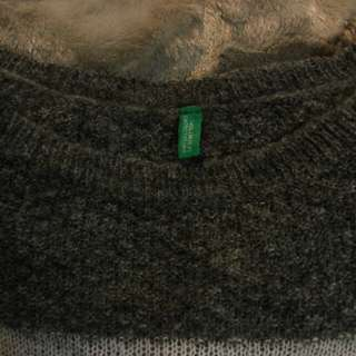 United colours of benetton tricolor sweater