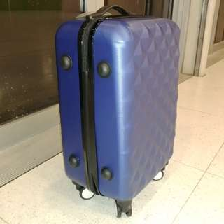 20吋伸縮桿360旋轉四轆手提行李旅行喼箱