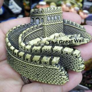 The Great Wall metal ref magnet limited stock!