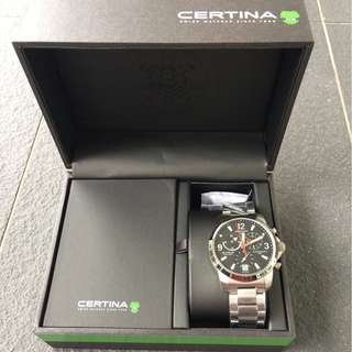 CERTINA DS Podium Gents Tachymeter Chronograph 100m Water Resistant Watch