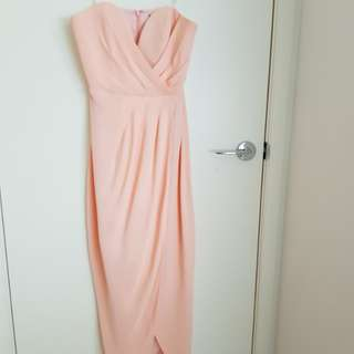 Sheike Reflections Maxi Size 10 Peach