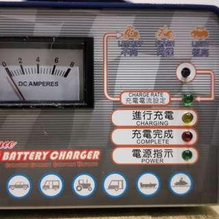 微電腦全自動充電器(汽機車用)