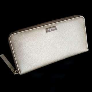 Kate Spade Gold Zipper Wallet